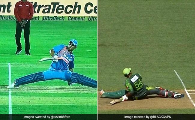 पाकिस्तान के कप्तान हुए इस तरह आउट तो लोग बोले- 'हर कोई धोनी नहीं होता'