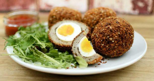 Scotch Egg And Broth