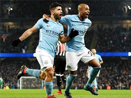 Premier League: Sergio Aguero Sinks Newcastle United as Manchester United Eye Alexis Sanchez