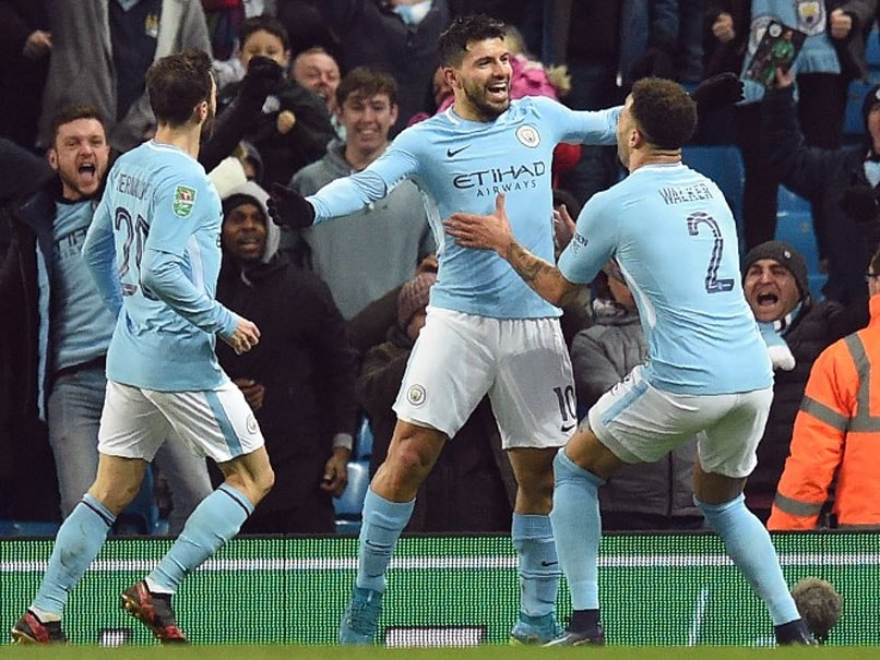 League Cup: Sergio Aguero To The Rescue Against Valiant Bristol City