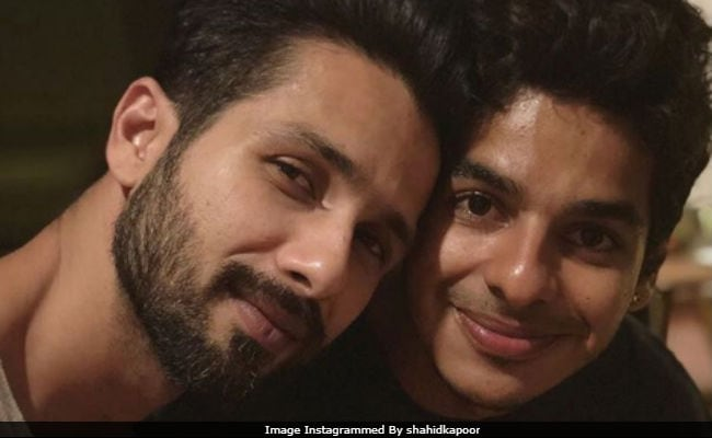 Shahid Kapoor 'Like A Teacher,' Says Brother Ishaan Khatter
