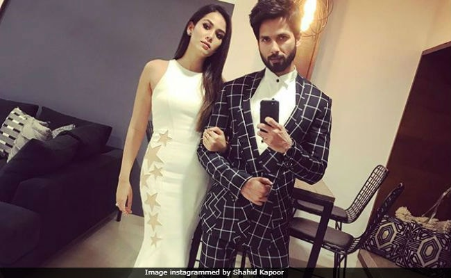 Shahid Kapoor And Mira Rajput's 'Evening Swag.' See Pic