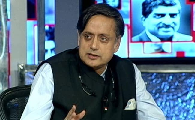 Competitive Communalism Agenda Of Party Pushing Hindutva: Shashi Tharoor