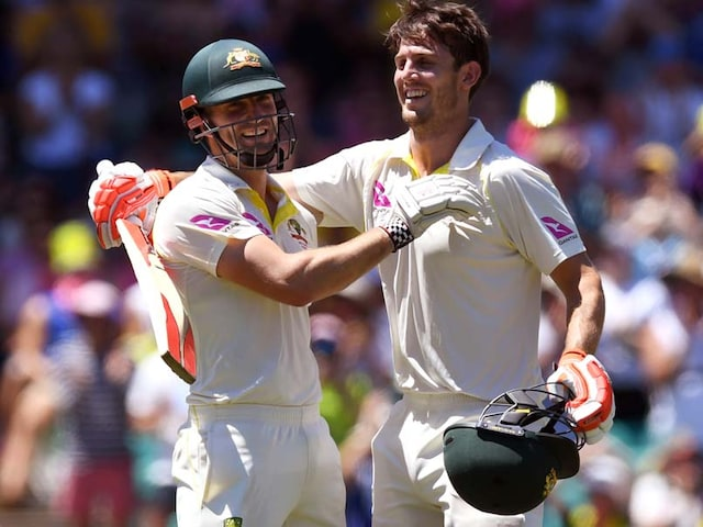 The Ashes, 5th Test: England Stare At Defeat After Marsh Brothers Tons