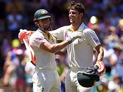 How Mitchell And Shaun Marsh's Century Celebrations Almost Ended In Disaster