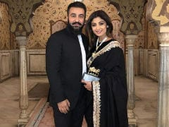 Shilpa Shetty, Husband Raj Kundra Attend A Birthday Party In Jaipur. Pics Are Now Trending