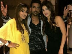 <i>Bigg Boss 11</i> Winner Shilpa Shinde Parties With Bandgi And Puneesh. See Pics