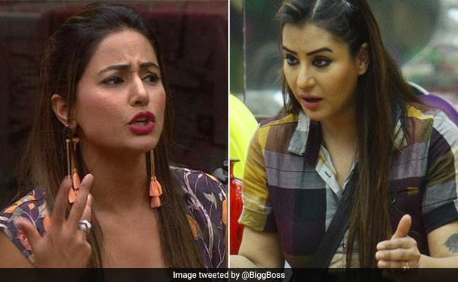 Bigg Boss 11: शिल्पा शिंदे पर चिल्लाते हुए हिना खान ने कहा- 'मैं यहां किचन में काम करने नहीं आईं...'