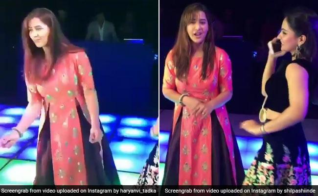 Viral Video: शिल्पा शिंदे ने जमकर लगाए ठुमके, Bigg Boss जीतने के बाद दिखीं पहली बार
