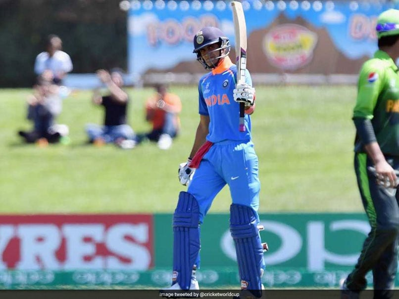ICC Under-19 World Cup: Shubman Gill Impresses With High-Quality Hundred Against Pakistan