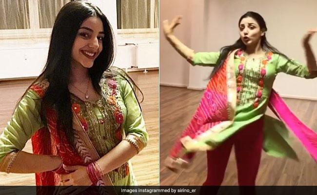 जर्मनी से आई इस लड़की ने सूट पहन किया पंजाबी गाने पर डांस, वीडियो वायरल