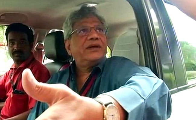 After Top Court Order, Sitaram Yechury Visits Srinagar, Meets CPM Leader