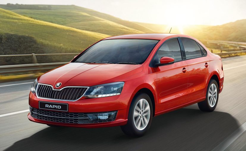 Skoda Rapid sedan's top-end Style variant now comes with four airbags as standard