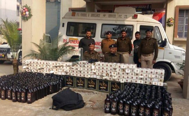 बिहार में अब शराब की तस्करी के लिए हो रहा है एंबुलेंस का इस्तेमाल!