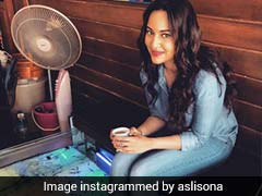 Why Are Sonakshi Sinha's Feet In A Pool Of Fish?