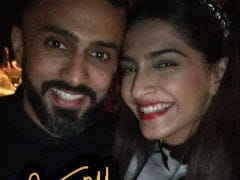 Inside Sonam Kapoor And Anand Ahuja's New Year Celebrations