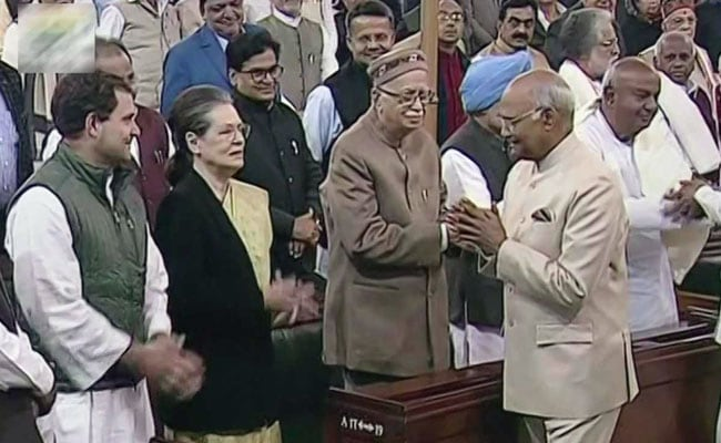 President Ram Nath Kovind's Parliament Address 'Hollow, Devoid Of Logic': Congress