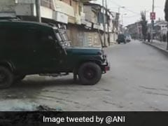 Protests In J&K's Sopore Over Alleged Custodial Death, Internet Snapped