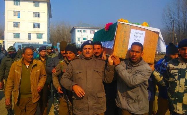 जम्मू-कश्मीर के सोपोर में IED विस्फोट में चार पुलिसकर्मी शहीद, जैश ने ली हमले की जिम्मेदारी