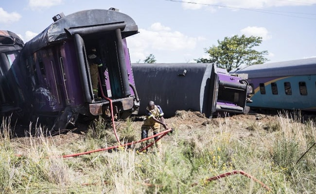 14 Dead, 190 Injured In South Africa As Train Ploughs Into Truck