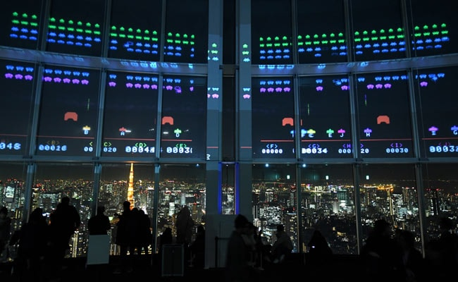 'Alien Attack' In Tokyo As Space Invaders Turns 40