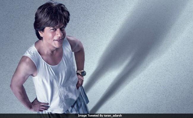 Zero First Poster Pint Sized Shah Rukh Khan Makes Huge Impact