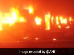 Stationary Danapur-Mokama Train Catches Fire In Bihar, No Injuries