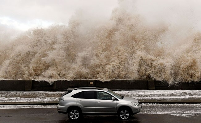 Storm Eleanor Brings Chaos To Europe