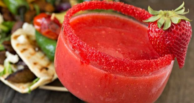 Strawberry Margarita Recipe By Neha Lakhani Ndtv Food