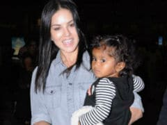 Sunny Leone's Routine With Daughter Nisha