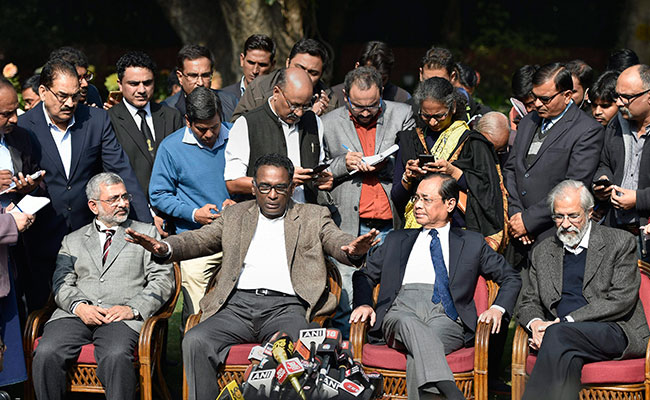 These Four Supreme Court Judges Took On Chief Justice Dipak Misra
