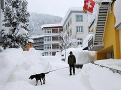 Swiss On High Avalanche Alert On Eve Of Davos Forum
