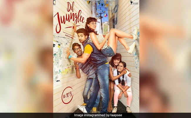 Dil Juunglee's New Poster: How Do You Like Taapsee Pannu's New Look?