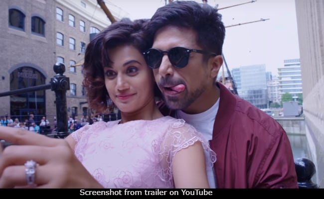 Dil Juunglee Trailer: Past Meets Present In Taapsee Pannu, Saqib Saleem's Love Story