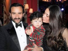 Taimur Gets A Kiss From Mom Kareena, A Cuddle From Dad Saif