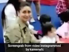 VIDEO: क्यूट 'तैमूर' ने की शैतानी तो.. मम्मी करीना हुईं परेशान, हैंडल करना हुआ मुश्किल