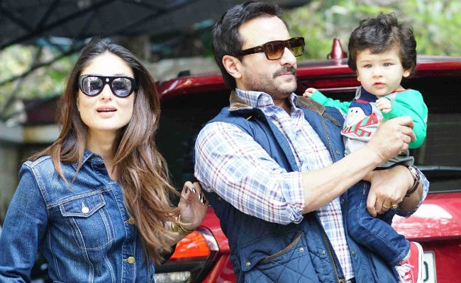 Saif Ali Khan On The Paparazzi's Interest In Taimur And Sara