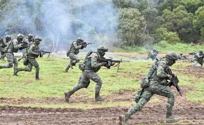 Taiwan Holds Live-Fire Drills As Tensions With China Mount