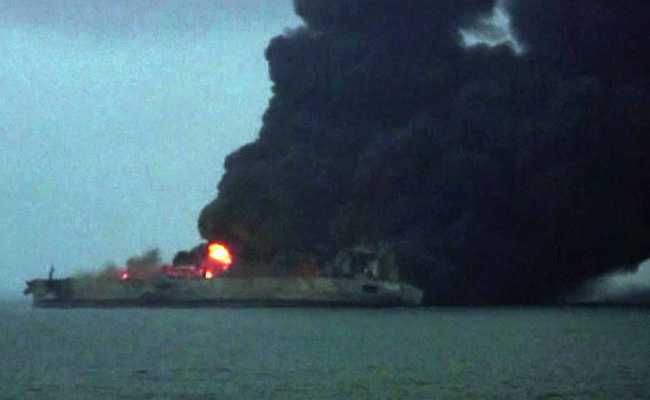 Oil Tanker Ablaze Off China Faces Explosion Risk: Authorities