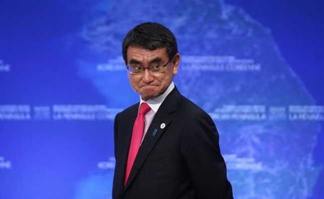 Japanese Foreign Minister Taro Kono Hails Indo-Japan Ties In 2017