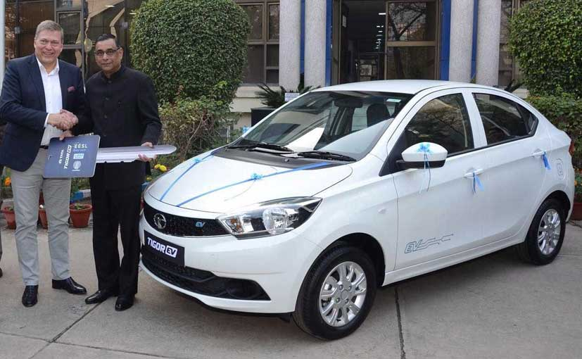 Auto expo 2018 tata motors to showcase 6 electric for Tata motors electric car