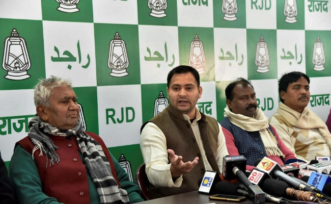 'Arrest Me If I Am Guilty': Tejashwi Yadav Dares Nitish Kumar