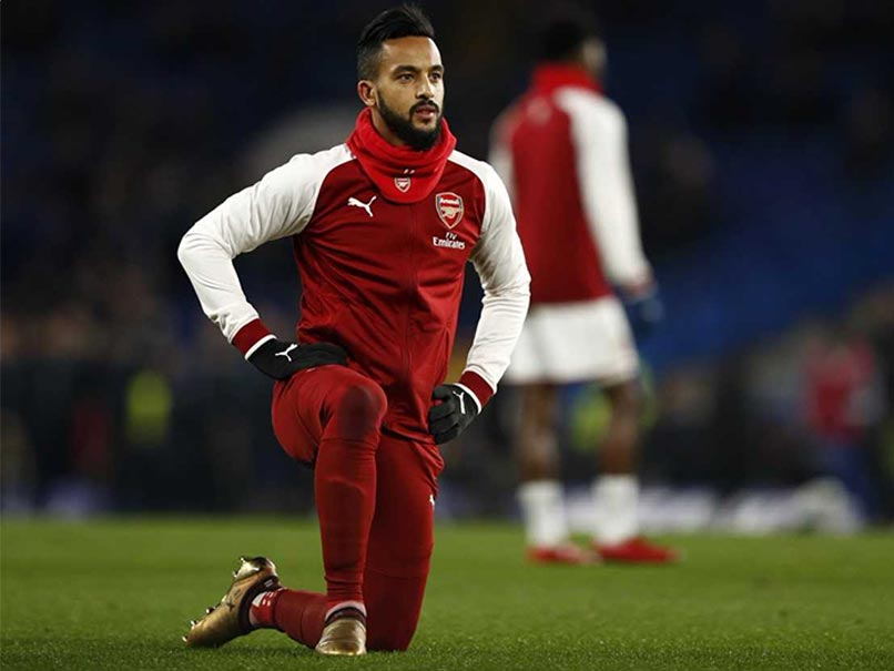 Premier League: Arsenal's Theo Walcott Set For Everton Medical