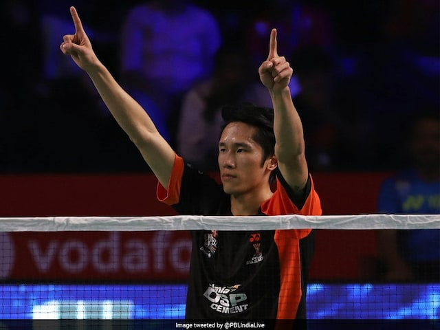 Premier Badminton League: Advantage Delhi In Semifinal Battle After Tian Houwei Heroics