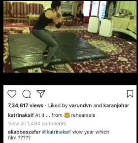 tiger shroff instagram