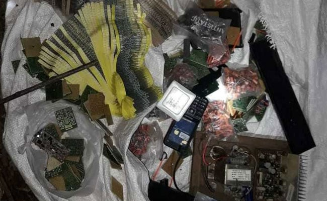 Electronic Items Found Near Balaji Shrine Could Have Been Used For Explosion, Say Police