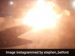 Wing Bursts Into Fireball After Planes Collide. Hysteria Caught On Camera