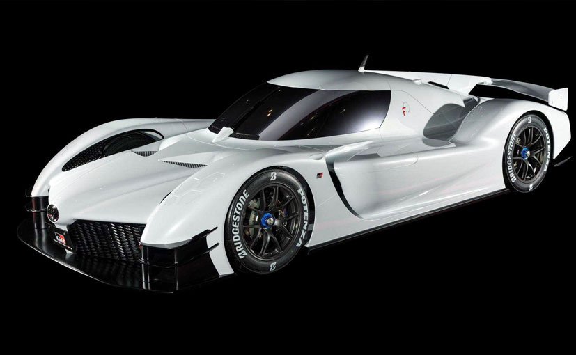 The Toyota GR Super Sport takes inspiration from the company's LMP1 car