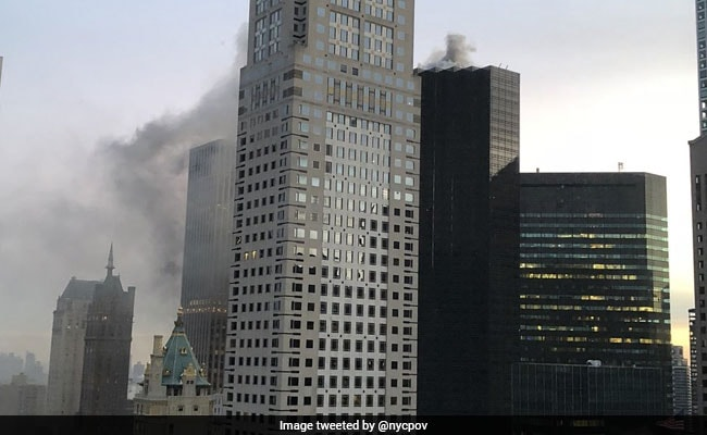 Fire Breaks Out At Trump Tower In Manhattan, 2 Injured