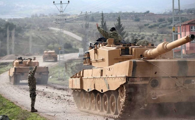 सीरियामें कुर्द मिलिशिया के खिलाफ अभियान में 7 तुर्की सैनिकों की मौत